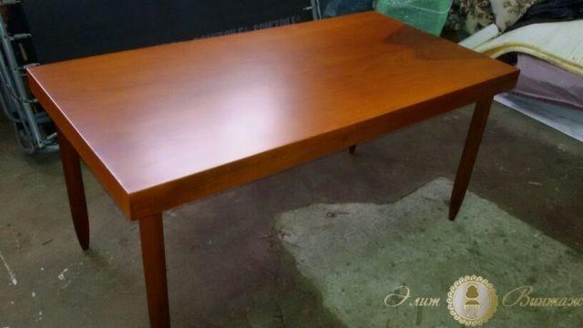 Реставрация обеденного стола своими руками