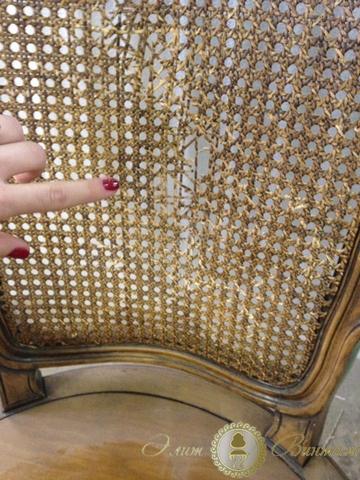 Реставрация плетеной мебели из ротанга  Kosair